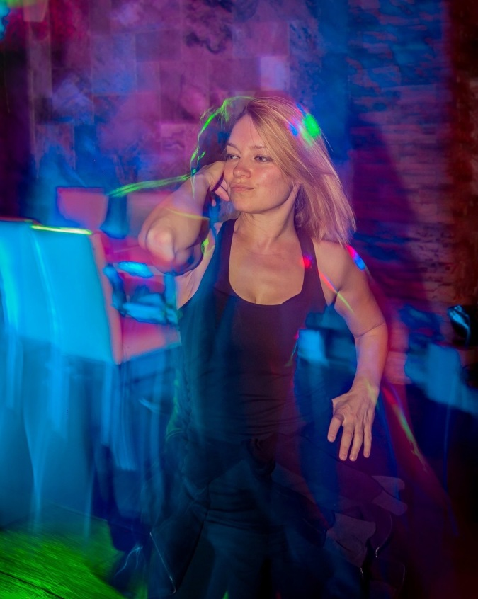 "Ania Ziolkowska Destroys and runs. Here she is dancing at Riou, In queens, at Psychill Psysundays. Ania Ziolkowska Knocked out my teeth, then ""punished"" herself by jumping on another dick, and partying around New York City."