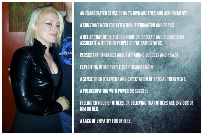 Ania Ziolkowska / Ania Anicca holds at least SIX of these nine traits